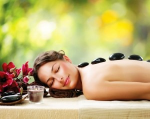 Hot Stone Massage Treatments at Revive Hair & Beauty Salons in Hale and Altrincham
