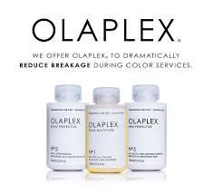 Olaplex treatments at Revive hair salon in Hale