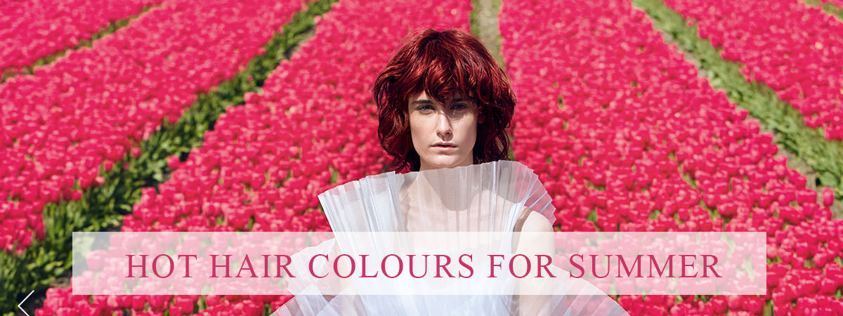 The Latest Spring & Summer Hair Colours!
