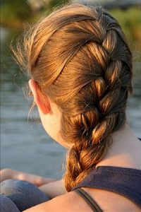 french-braid at Revive hair salon in Hale