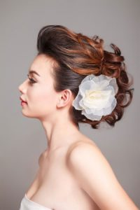 Wedding hair Revive hair salon Hale