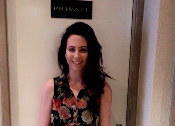 Jade at revive hair salon in Hale