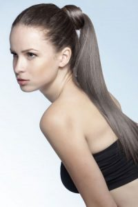 ponytail hairstyles at Revive hair salon in Hale