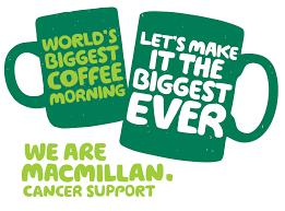 macmillan coffee morning revive hair salons Hale & Altrincham