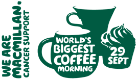 Come & Join Our Macmillan Coffee Morning!!
