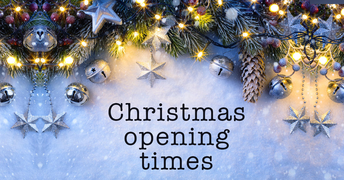 Christmas Opening Hours for Hale Hair & Beauty Salon