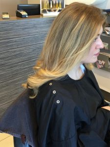 blonde hair colour at revive hair and beauty salon in hale
