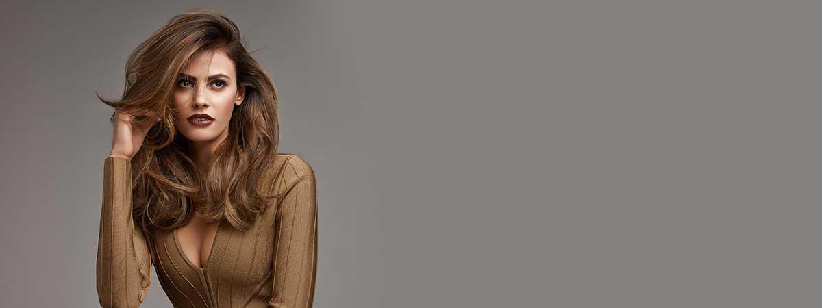 brown hair colour at revive hair salon in hale