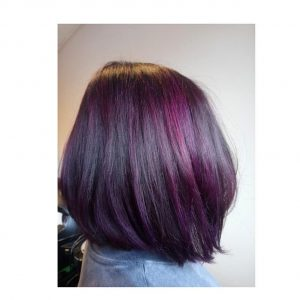 bold and vibrant hair colour at revive hair salon in hale