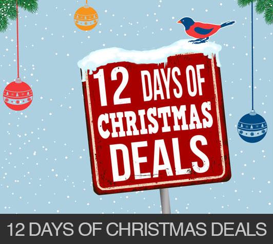 Enjoy The 12 Days of Christmas…