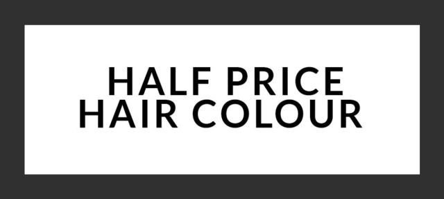 HALF PRICE COLOUR OFFER AT REVIVE HAIR SALON, ALTRINCHAM
