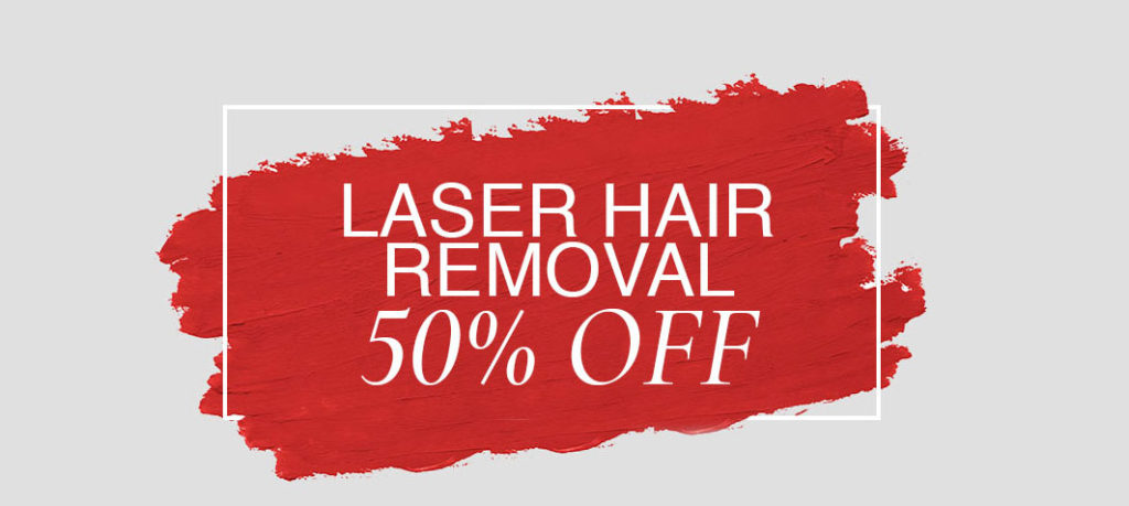 50% off laser hair removal services at revive beauty salon in altrincham