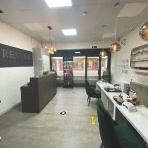 covid safety at revive hair and beauty salon in Altrincham