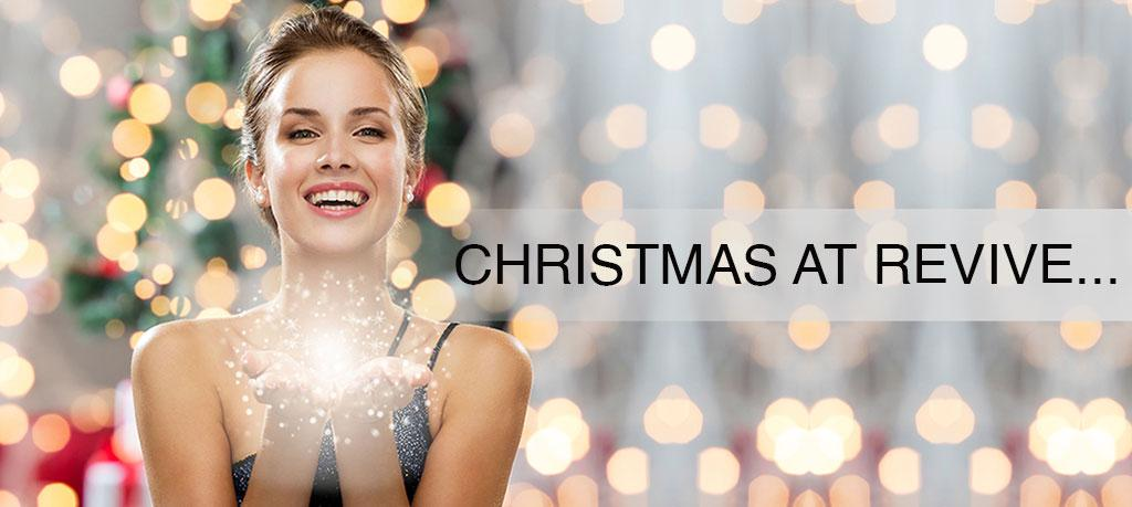 Christmas at Revive hair and beauty salon in altrincham