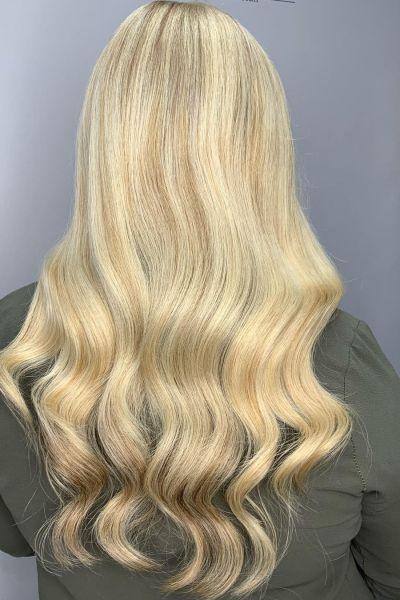 BLONDE HAIR AT REVIVE HAIR SALON IN ALTRINCHAM