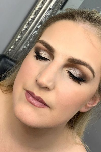 professional make up application in Altrincham at Revive salon